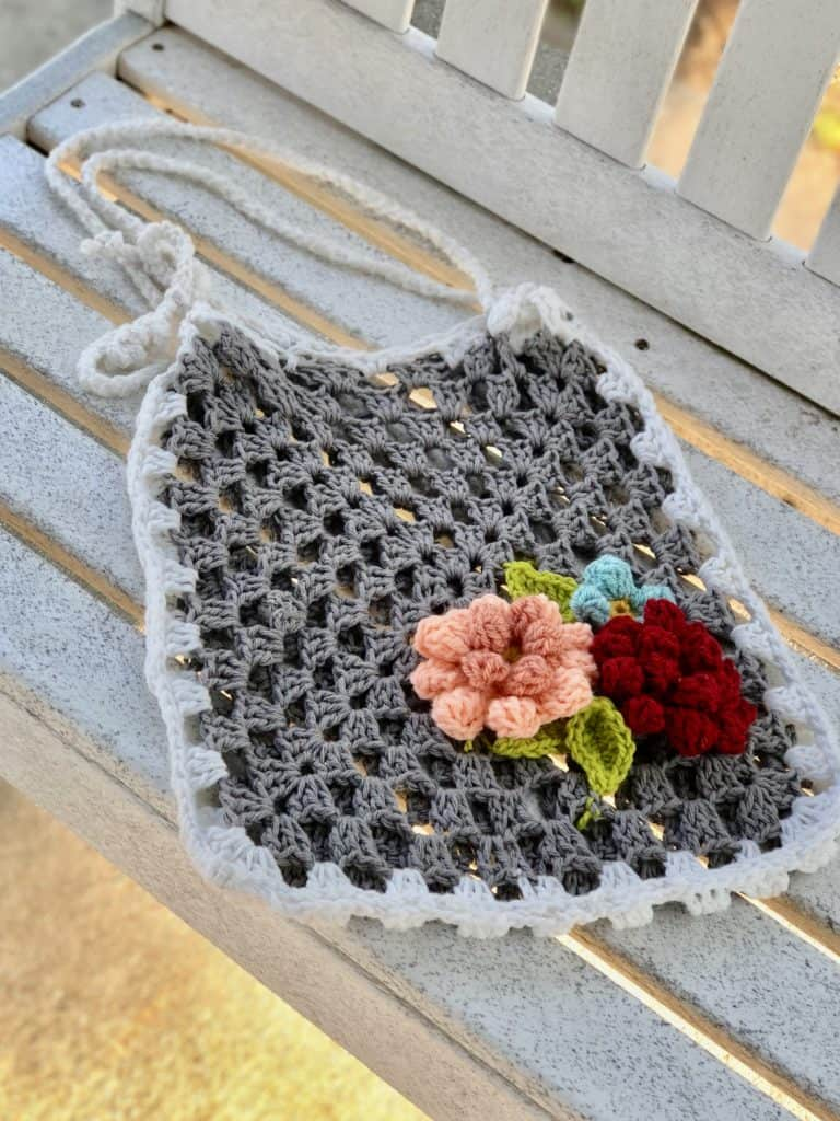 living lighter crochet summer bag