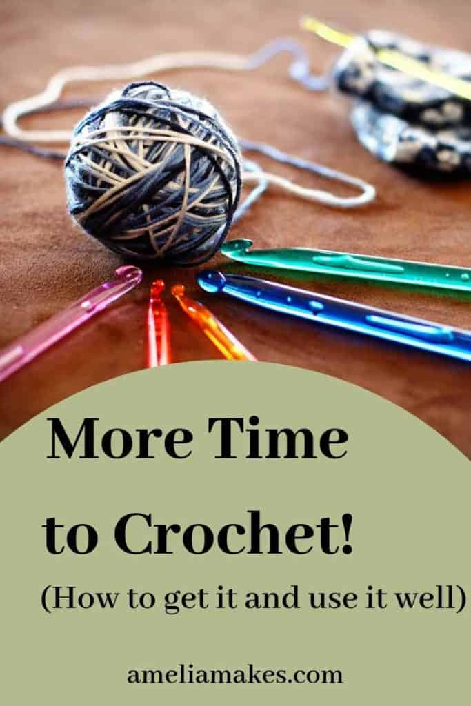 Pin image for more time to crochet