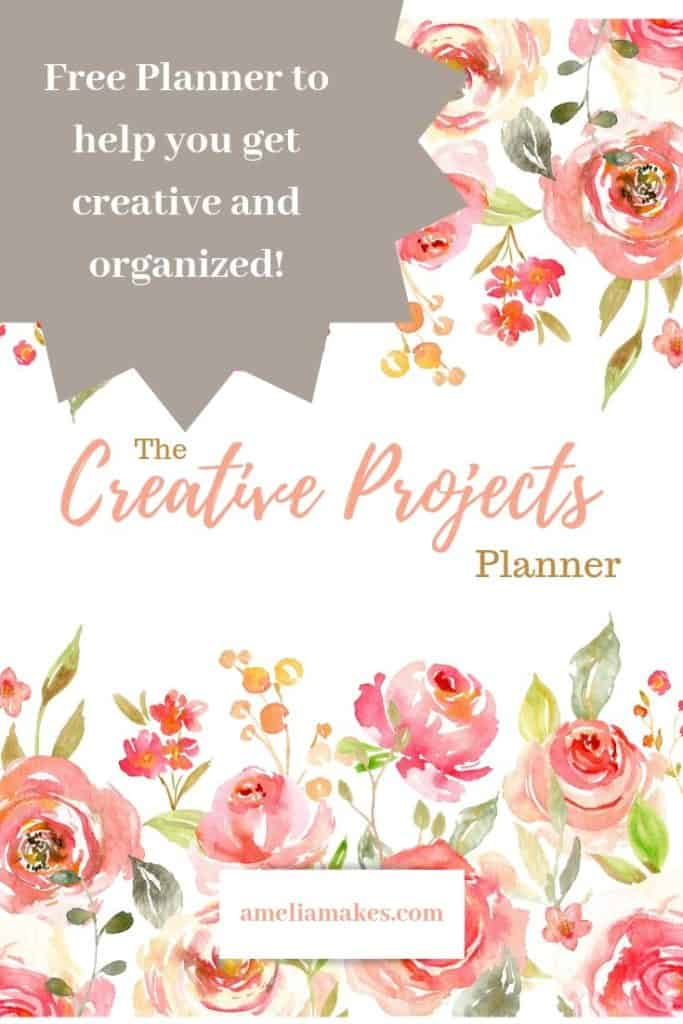 Pin for the planner for crochet projects