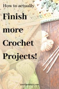Pin for How to finish more crochet Projects