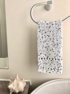 Free Crochet Hand Towel Pattern