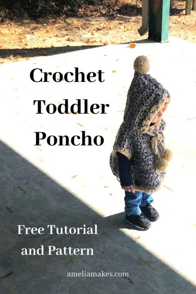 First Pin image for crochet Poncho