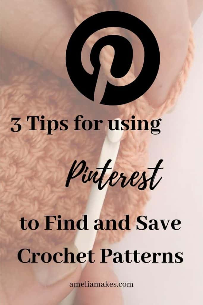 crochet patterns on pinterest pin