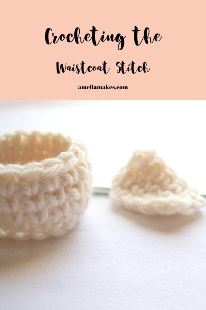 waistcoat stitch crochet
