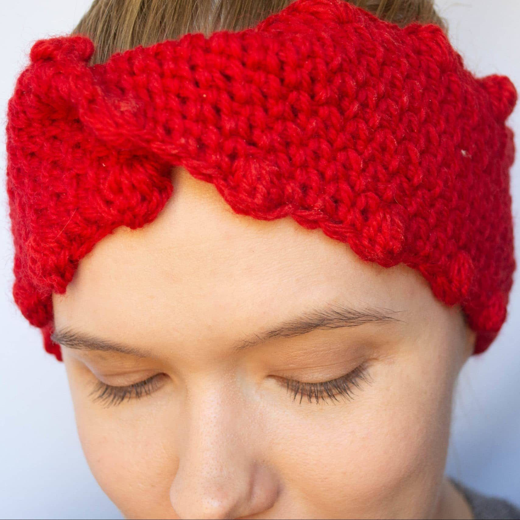 crochet headband or earwarmer.