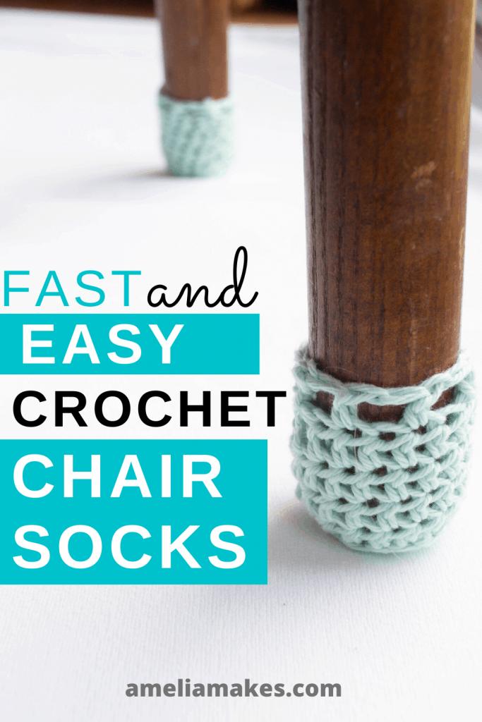 Crochet Chair socks pin 3