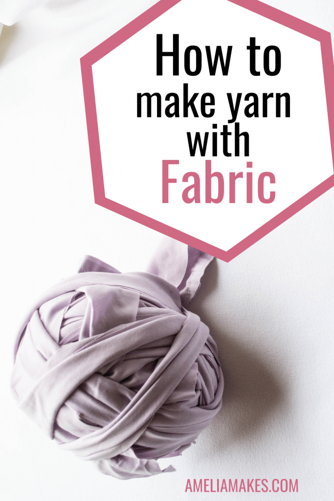 how to make fabric yarn pin 1