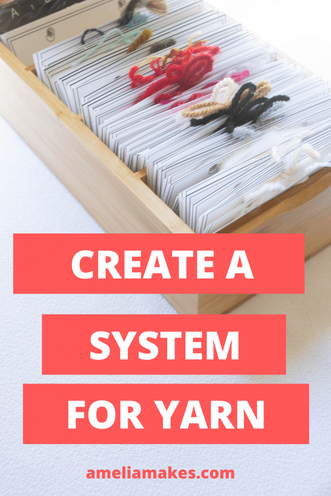 get your yarn organized pin 3