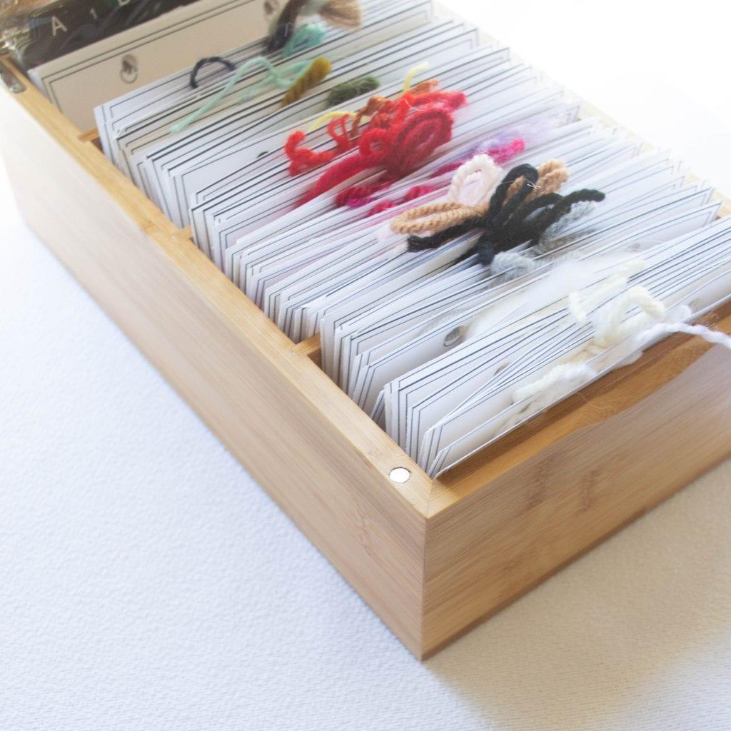 Get your yarn organized