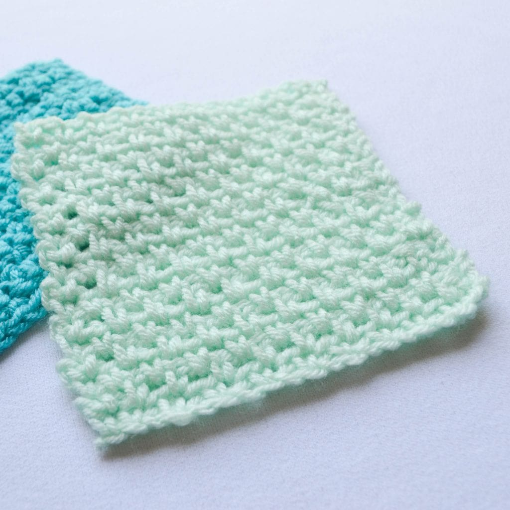 picture of the stitch done in this tutorial
