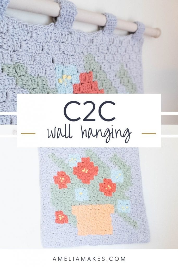 floral wall hanging pinterest image
